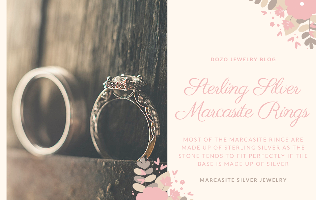 Sterling Silver Marcasite Rings