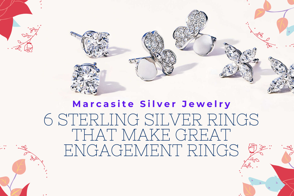 6 Sterling Silver Rings That Make Great Engagement Rings